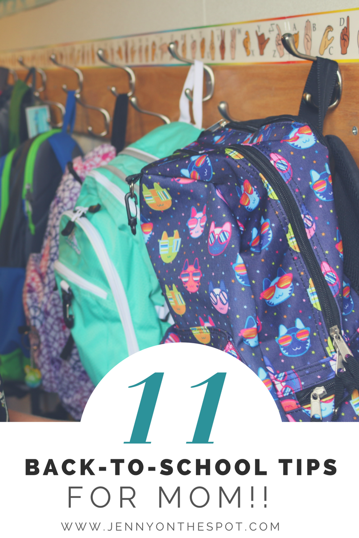11 Back-to-School Tips for Mom!