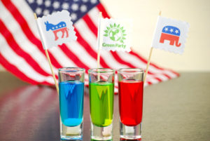 Election Day Jolly Rancher-infused cocktail shooters via @sheknows.com