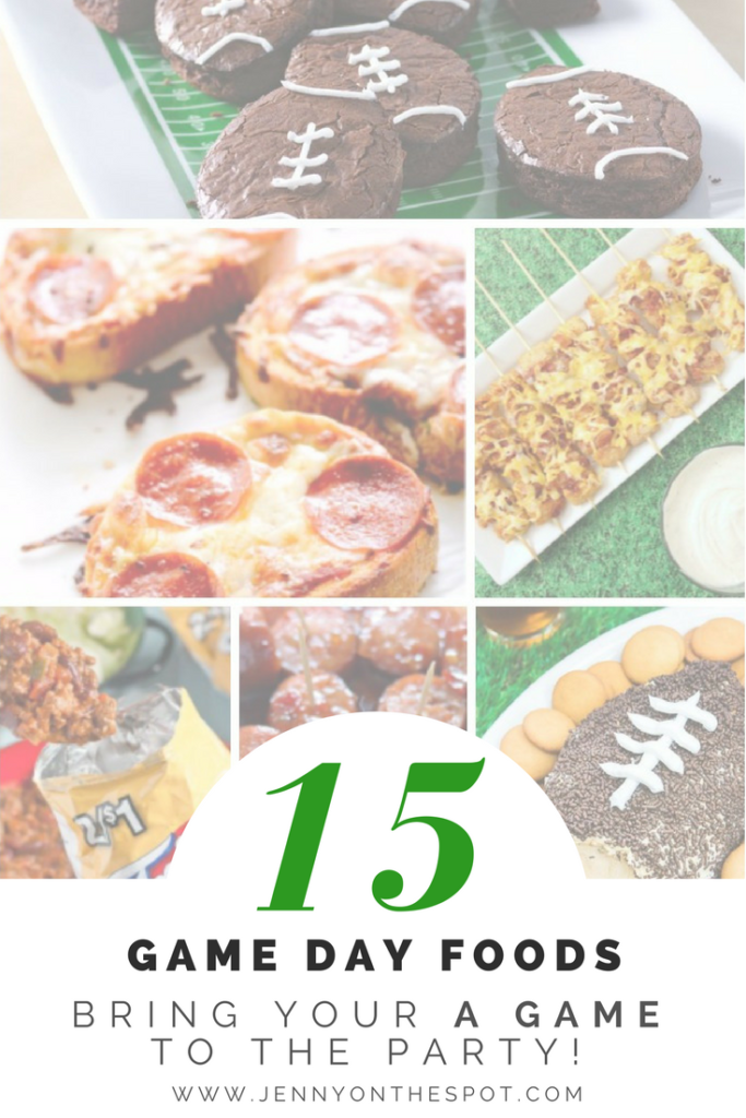 Don't Plan Your Super Bowl Party Until You've Seen These 15 Recipes | www.jennyonthespot.com
