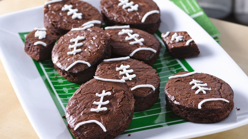 15 Super Bowl Party Recipes: Touchdown Brownies