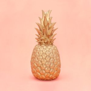 Pineapple Lamp for Mom!