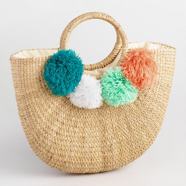 Pom Tote at World Market for Mother's Day