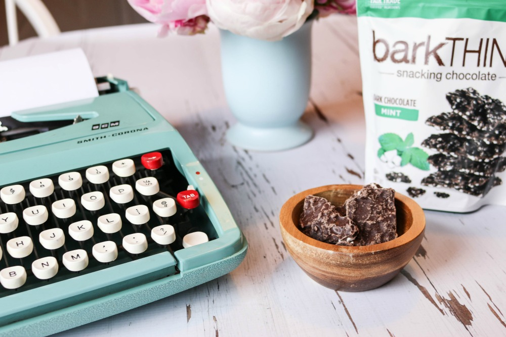 Old school working snack | barkTHINS