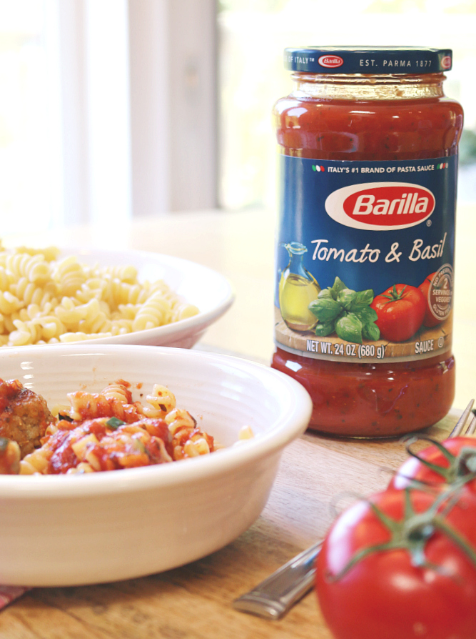 Barilla pasta and sauce