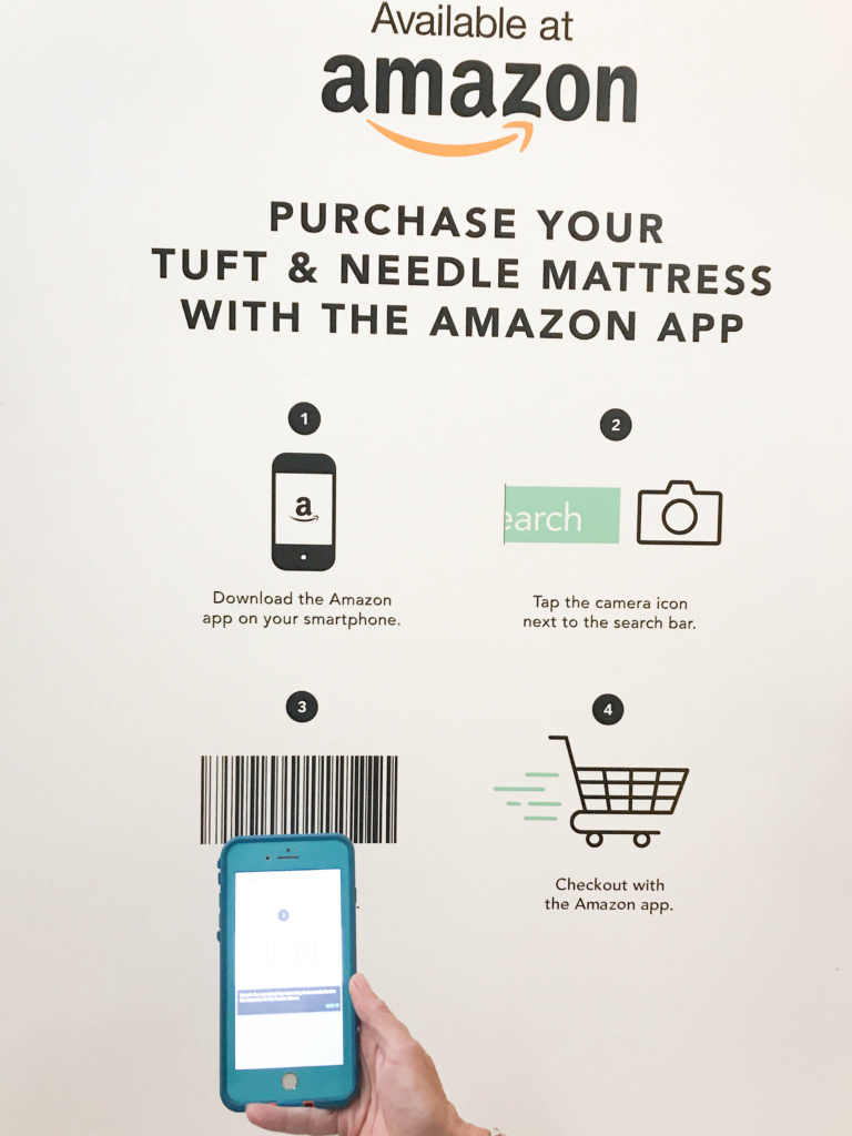 Order Tuft & Needle products at Amazon straight from the store!